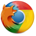 Logo Firefox Chrome