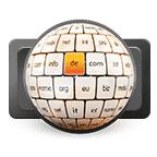 Grafik Globus mit Domains